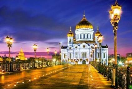 Пазл Московский кафедральный собор Христа Спасителя 1000 эл 103355