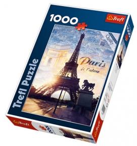 Пазл Париж на рассвете 1000 эл 10394