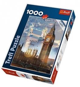 Пазл Лондон на рассвете 1000 эл 10395