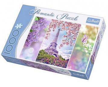 Пазл Весна в Париже серия Романтик 1000 эл 10409