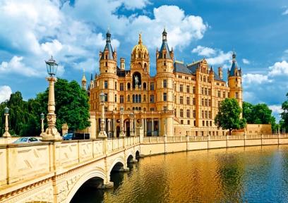Пазл Замок в Шверине Германия 1000 эл 10430