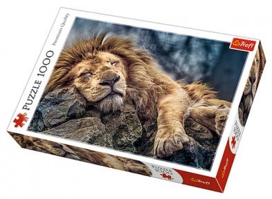 Пазл Спящий лев 1000 эл 10447