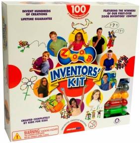 Конструктор Inventors Kit, 100 деталей, Zoob 11100