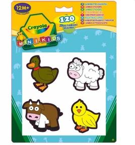 Набор стикеров для самых маленьких Животные 1+ 12599