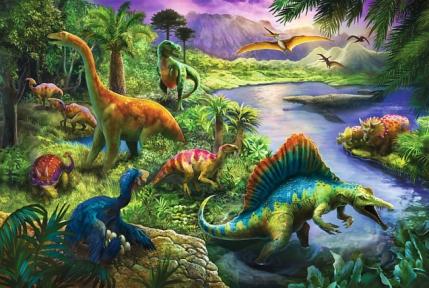 Пазл Динозавры 260 эл 13214