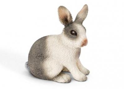 Игрушка-фигурка Кролик сидящий 13673