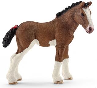 Клейдесдальский жеребенок - игрушка-фигурка, Schleich 13810