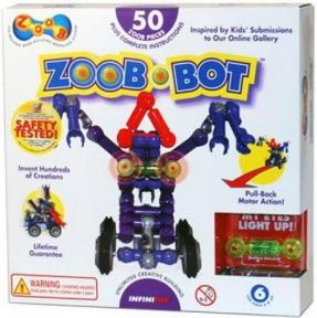 Конструктор Zoob-Bot с инерционным механизмом и световым эффектом, Zoob 14001