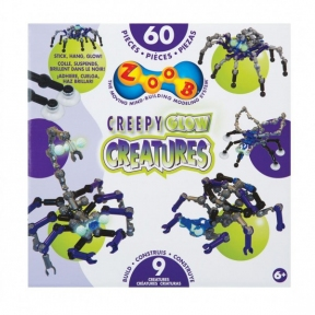 Конструктор Glow Creepy Creatures 60 деталей 14003