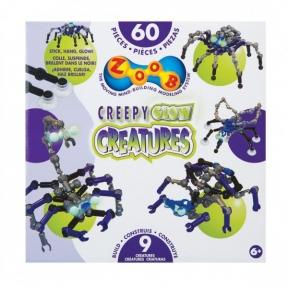 Конструктор Glow Creepy Creatures 60 деталей 14003