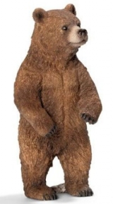 Игрушка-фигурка Медведица гризли 14686