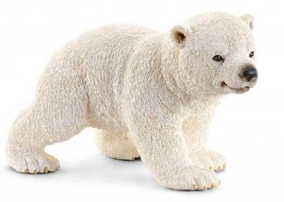 Игрушка-фигурка Полярный медвежонок на прогулке 14708