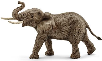 Африканский слон (самец) - игрушка-фигурка, Schleich 14762