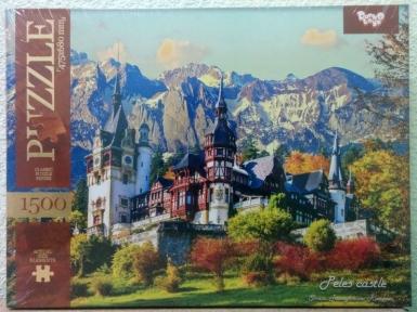 Пазл Замок Пелеш в Румынии 1500 эл 1500-02-07
