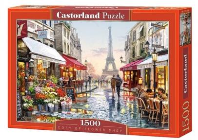 Пазл Цветочный магазин в Париже 1500 эл 151288