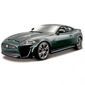Авто-конструктор - Jaguar XKR-S (темно-зелений, 1:24), Bburago 18-25118