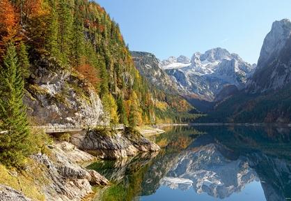 Пазл Озеро в Гозау Австрия 2000 эл 200368