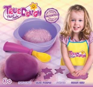 Набор для лепки с одним цветом, сиреневый, TrueDough 21012