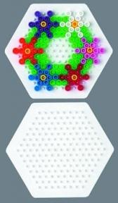 Поле для термомозаики Hama Midi маленький шестиугольник