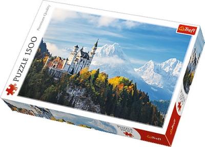 Пазл Баварские Альпы 1500 эл 26133