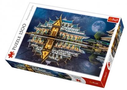Пазл Буддийский храм Ват Па Пху Кон в Таиланде 1500 эл 26141
