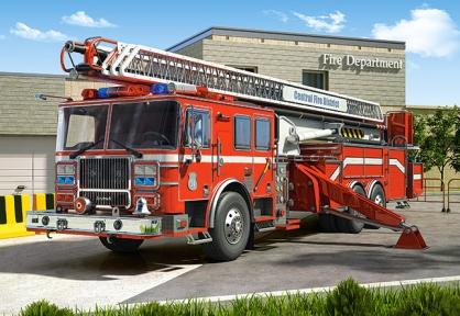 Пазл Пожарная машина 260 эл 26760