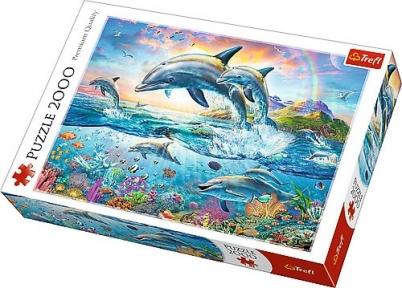 Пазл Счастливые дельфины 2000 эл 27087