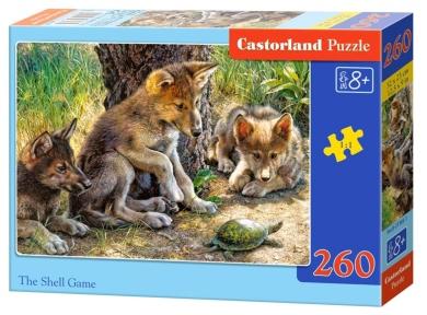 Пазл Волчата и черепаха 260 эл 27385