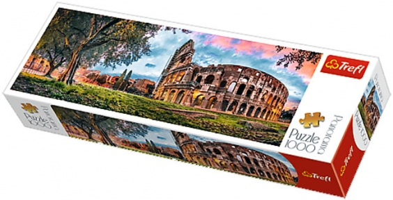 Пазл Колизей на рассвете 1000 эл панорама 29030