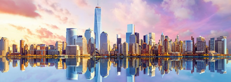 Пазл Манхеттен Нью Йорк 1000 эл панорамный 29033