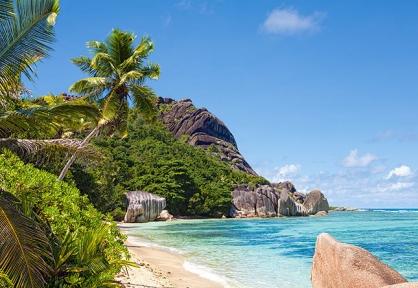 Пазл Тропический пляж, Сейшилы 3000 эл. 300228