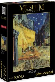 Пазл Ван Гог копия картины Терасса ночного кафе 1000 эл. 31470
