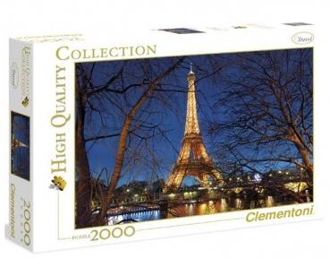 Пазл Париж Эйфелева башня 2000 эл 32554