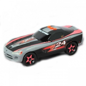 Игрушка Toy State Машина Dodge Viper Крутой розворот со светом и звуком 23 см 33536