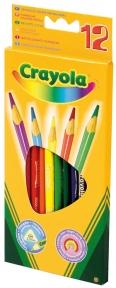 12 цветных карандашей Crayola 3612