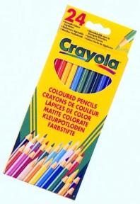 Крайола 24 цветных карандаша 3+ 3624