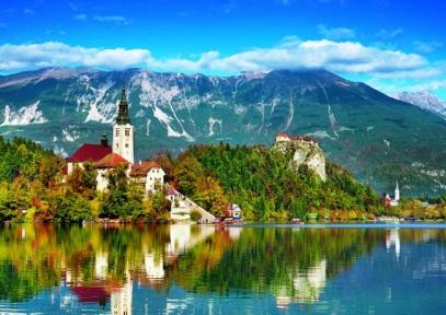 Пазл Блед Словения 500 эл 37259