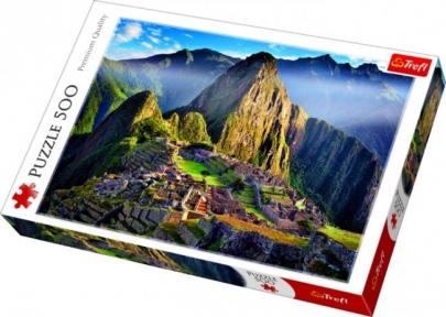 Пазл Горный массив над старинным святилищем Мачу Пикчу 500 эл 37260