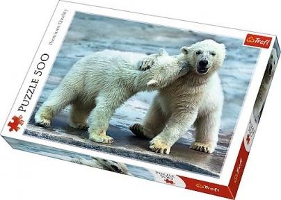 Пазл Белые медведи 500 эл 37270