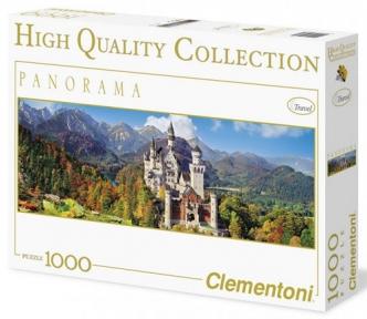 Пазл Замок Нойшванштайн панорама 1000 эл 39283