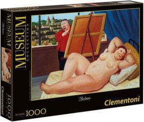 Пазл Автопортрет с моделью копия картины Фернандо Ботеро 1000 эл 39309