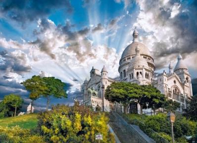 Пазл Базилика Сакре-Кер, Монмартр, Париж 1000 эл 39383