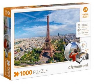 Пазл Париж 1000 эл (виртуальная реальность) 39402