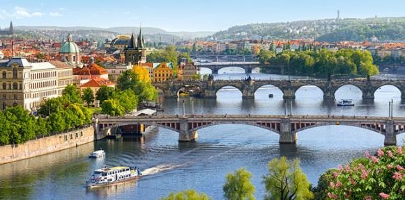 Пазл Мост Влтава в Праге 4000 эл 400096
