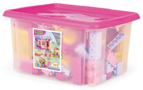 Конструктор в коробке (для девочек), 132 эл., Wader 41280