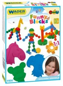 Конструктор Funny blocks 36 элементов, Wader 41830