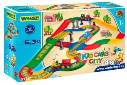 Kid Cars - Городок 6,3 м, Wader 51791
