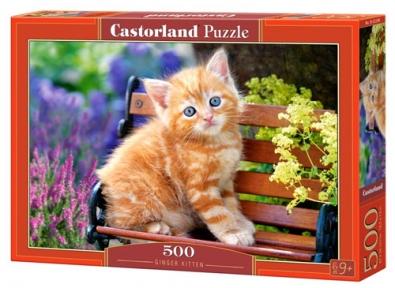 Пазл Рыжий котенок 500 эл 52240