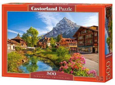 Пазл Кандерштег Швейцария 500 эл 52363