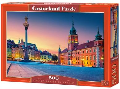 Пазл Замковая площадь в Варшаве 500 эл 52486